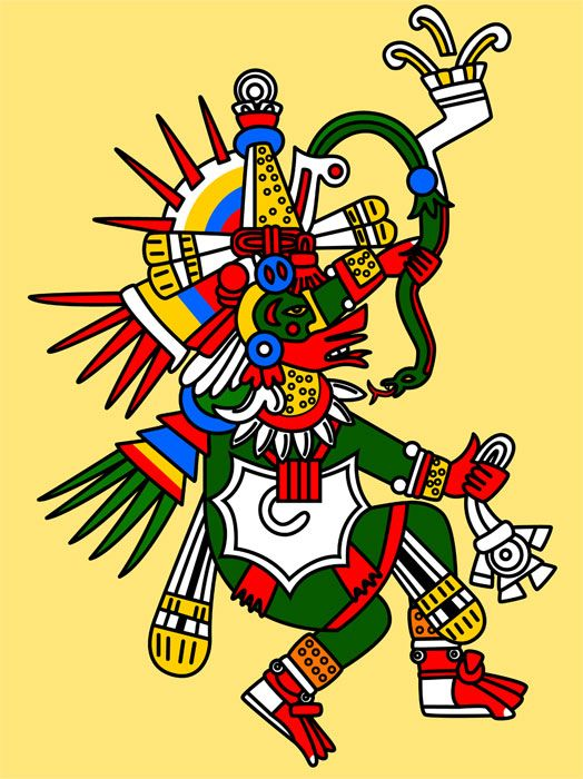 Quetzalcoatl Aztec god of wisdom. God is dead.