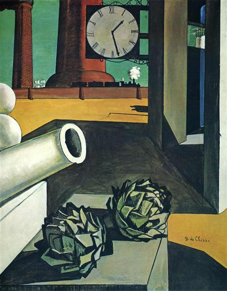 Giorgio de Chirico the conquest of the philosopher surreal imagery influence on eternal return justin marquis